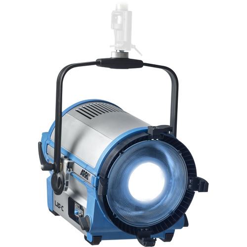 Arri L10-C Color LED Fresnel (Blue/Silver, Hanging)