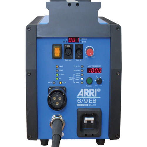ARRI Electronic High-Speed Ballast with AutoScan for 6,000 and 9,000W Discharge Lamps