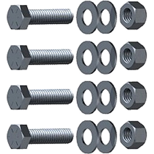 "Arri Steel Cap Screw 5/16"" With Wash/Nut (4-Pack)"