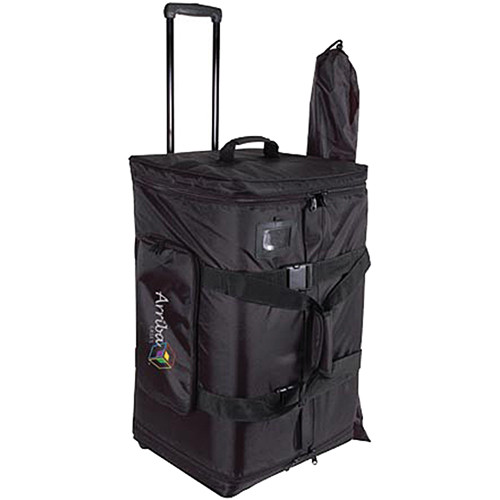 """Arriba Cases AS-185 Rolling Bag for 15"""" Speakers"""
