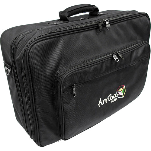Arriba Cases AS322 Digital Mixer Case with Computer Compartment