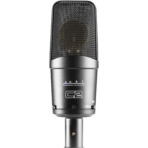 ART C2 Cardioid FET Condenser Microphone with Pad & Roll-Off Switch