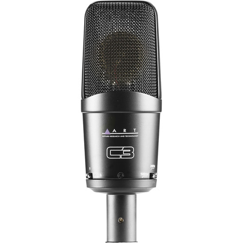 ART C3 Cardioid FET Condenser Mic With 3-Polar Pattern