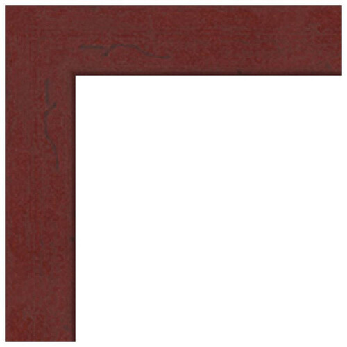 "ART TO FRAMES 4083 Black Stain Solid Red Oak Photo Frame (6 x 8"", Regular Glass)"