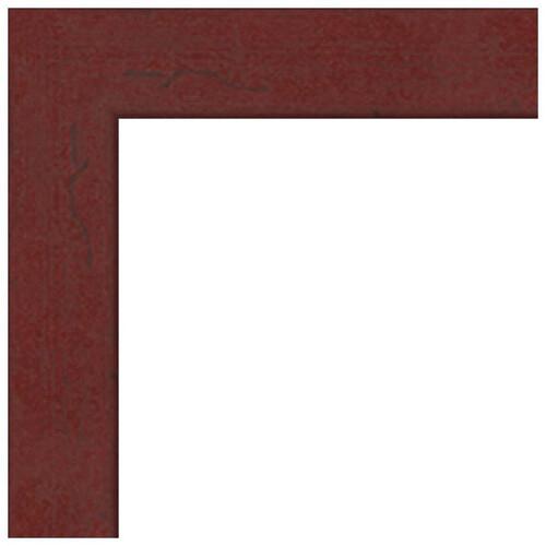 "ART TO FRAMES 4083 Black Stain Solid Red Oak Photo Frame (8 x 20"", Regular Glass)"