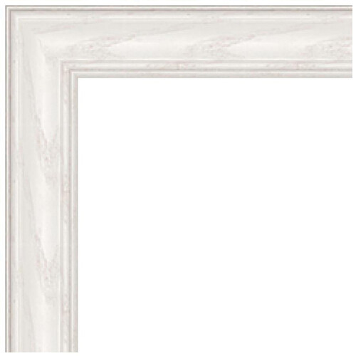 "ART TO FRAMES 4098 White Wash on Ash Photo Frame (18 x 36"", Acrylic Glass)"
