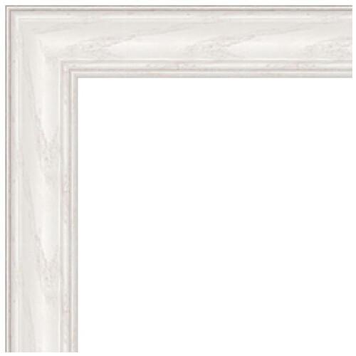 "ART TO FRAMES 4098 White Wash on Ash Photo Frame (9 x 9"", Regular Glass)"