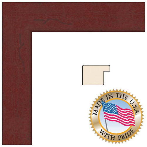 "ART TO FRAMES 3978 Mahogany Photo Frame (3 x 5"", Regular Glass)"