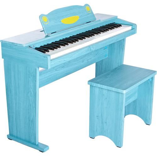 Artesia Artesia FUN-1 61-Key Children's Digital Piano Bundle (Blue)