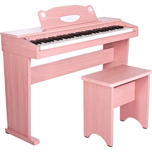 Artesia Artesia FUN-1 61-Key Children's Digital Piano Bundle (Pink)