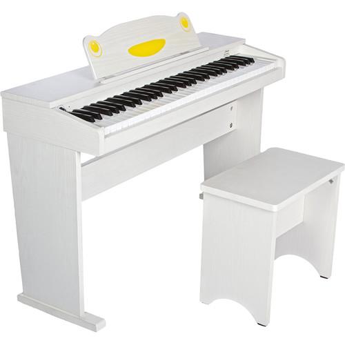 Artesia Artesia FUN-1 61-Key Children's Digital Piano Bundle (White)