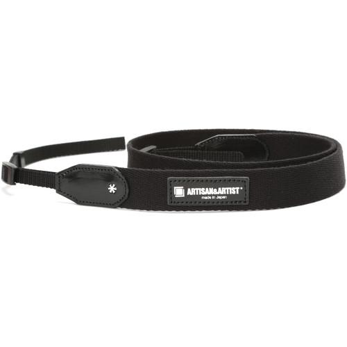 Artisan & Artist ACAM-110 Slim Tape Camera Strap (Black)