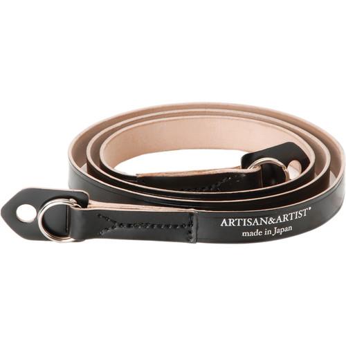 Artisan & Artist ACAM-262 Fixed-Length Leather Camera Strap (Black)