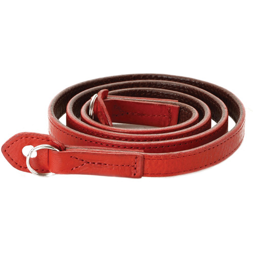 Artisan & Artist ACAM-280 Italian Leather Camera Strap (Red)