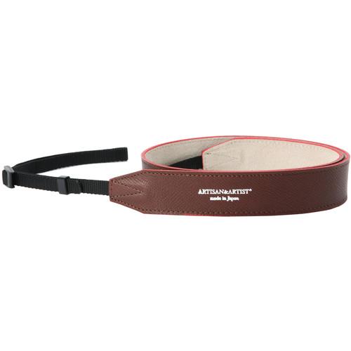 Artisan & Artist ACAM-600 Soft Leather Camera Strap (Brown)