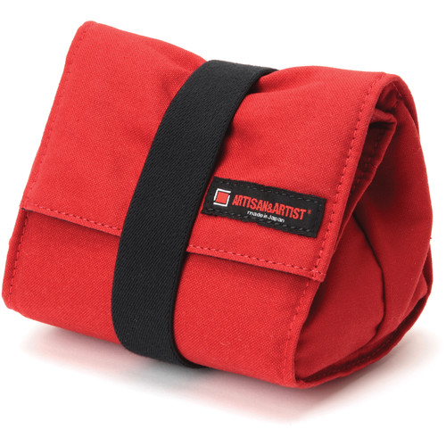 Artisan & Artist ACAM-75 Camera Pouch (Red)