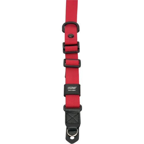 Artisan & Artist ACAM-25ER Easy Slider Camera Strap (Red)