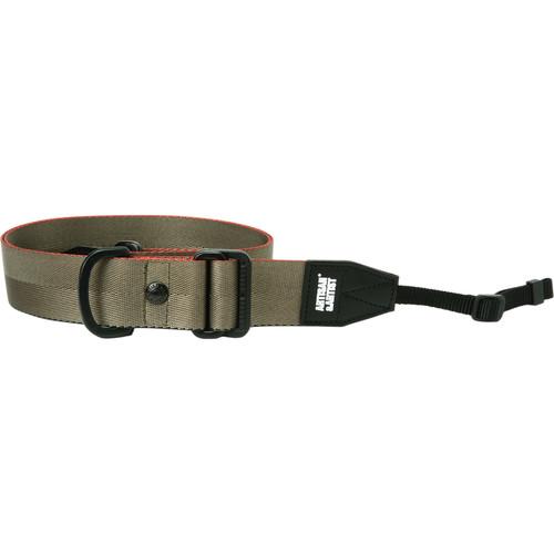 Artisan & Artist ACAM-E38 Easy Slider Series Camera Strap (Khaki)