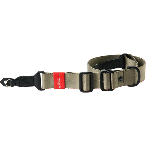Artisan & Artist ACAM-E38R Easy Slider Series Camera Strap with Rings (Khaki)