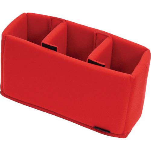 Artisan & Artist IN2-1100 Inner Case for ACAM or GCAM Series 1100 Camera Bag (Red)