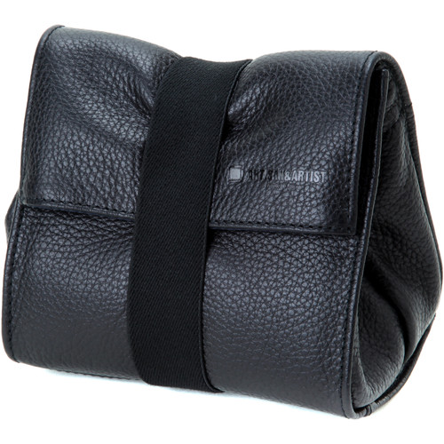 Artisan & Artist ACAM-77 Soft Leather Pouch (Black)