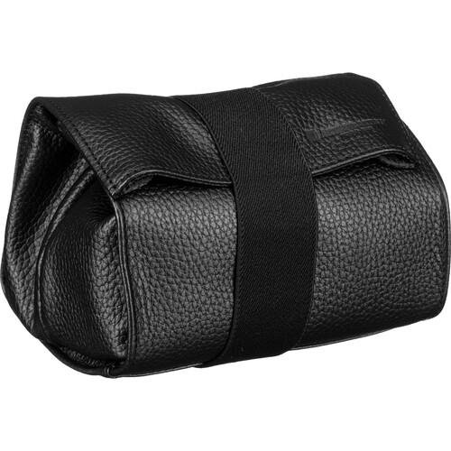 Artisan & Artist ACAM-78 Soft Leather Pouch (Black)