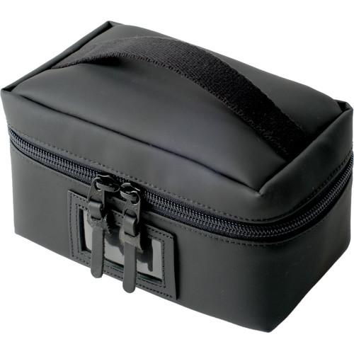 Artisan & Artist ACAM-60N Vanity Pouch with Top Handle (Black)