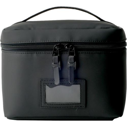 Artisan & Artist ACAM-63N Vanity Pouch with Top Handle (Black)