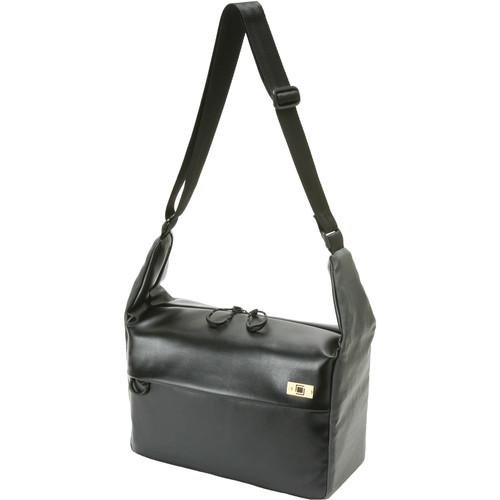 Artisan & Artist Basalt Shoulder Bag (Black/Gray)