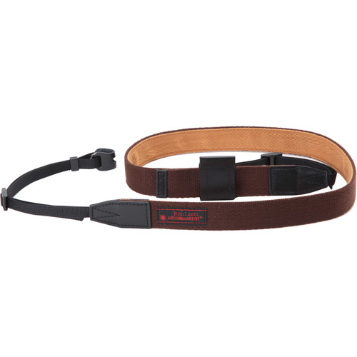 Artisan & Artist RDS-AC100 Camera Strap with Lens Cap Holder (Brown/Camel)