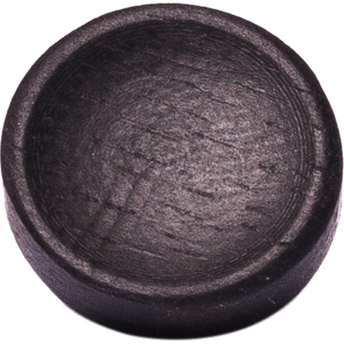 Artisan Obscura Soft Shutter Release Button (Small Concave, Sticky-Backed, Ebony Wood)