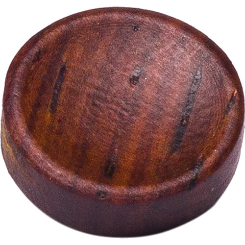 Artisan Obscura Soft Shutter Release Button (Small Concave, Sticky-Backed, Teak Wood)