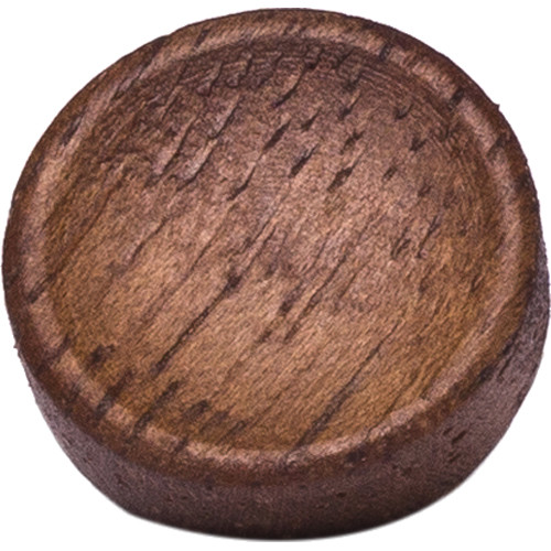 Artisan Obscura Soft Shutter Release Button (Small Concave, Sticky-Backed, Walnut Wood)