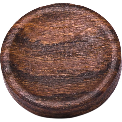Artisan Obscura Soft Shutter Release Button (Large Concave, Threaded, Bocote Wood)
