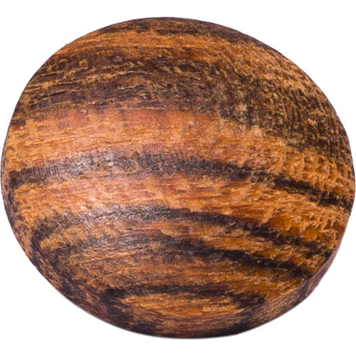 Artisan Obscura Soft Shutter Release Button (Small Convex, Threaded, Bocote Wood)