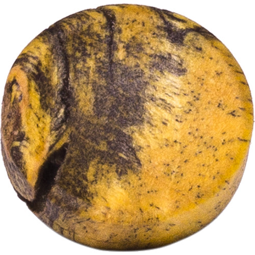 Artisan Obscura Soft Shutter Release Button (Large Convex, Threaded, Buckeye Burl Wood)
