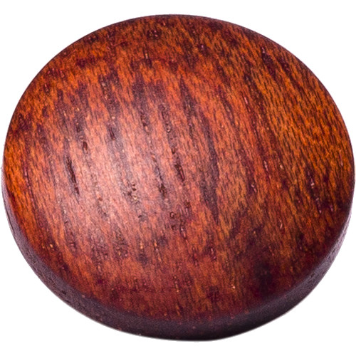 Artisan Obscura Soft Shutter Release Button (Large Convex, Threaded, Bloodwood)