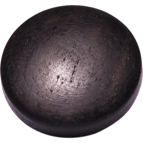 Artisan Obscura Soft Shutter Release Button (Small Convex, Threaded, Ebony Wood)
