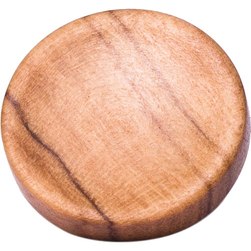 Artisan Obscura Soft Shutter Release Button (Large Concave, Threaded, Wild Olive Wood)