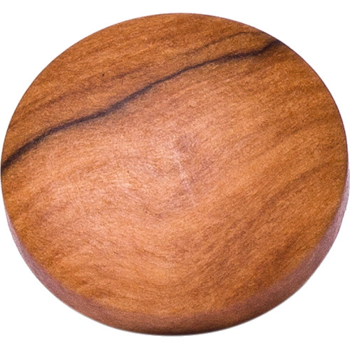 Artisan Obscura Soft Shutter Release Button (Small Convex, Threaded, Wild Olive Wood)