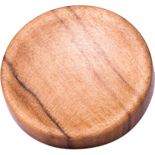Artisan Obscura Soft Shutter Release Button (Small Concave, Threaded, Wild Olive Wood)