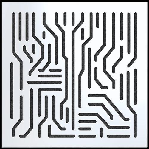 "ARTNOVION Azteka Lacquered Wood Acoustical Absorber Panel (23.4 x 23.4 x 2.3"", Blanc)"