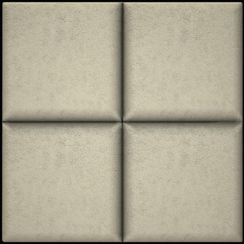 "ARTNOVION Belem Fabric Acoustical Absorption Panel (23.4 x 23.4 x 2.4"", Nebbia)"