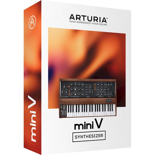 Arturia Mini V - Virtual Synthesizer (Download)
