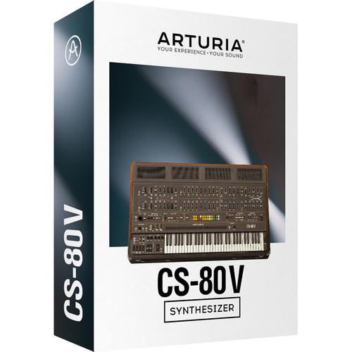 Arturia CS-80 V - Virtual Synthesizer (Download)