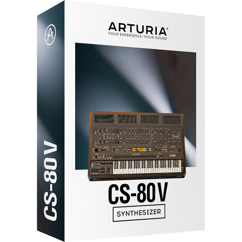 Arturia CS-80 V - Virtual Synthesizer (Download)