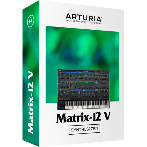 Arturia Matrix-12 V - Virtual Synthesizer (Download)