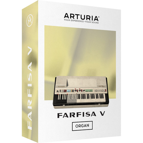 Arturia Farfisa V - Virtual Instrument (Download)