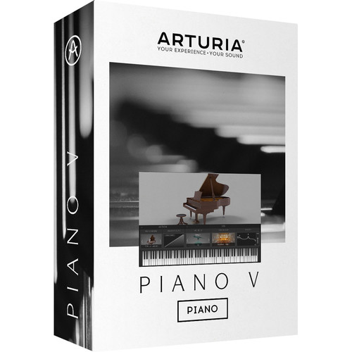 Arturia Piano V - Virtual Instrument (Download)