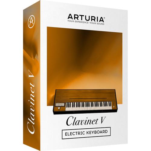 Arturia Clavinet V - Virtual Horner D6 (Boxed)